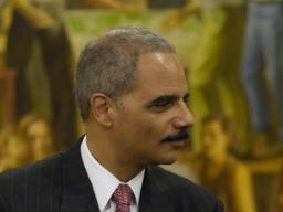 Attorney General Holder at the Hispanic Heritage Month Celebration.