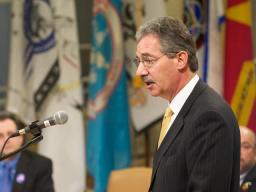 The Deputy Attorney General, James M. Cole, spoke about the department's commitment to tribal justice and public safety