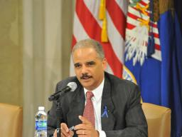 Attorney General Eric Holder discusses the important role the public awareness campaign will play to raise awareness about the risks posed to drug endangered children across the country.