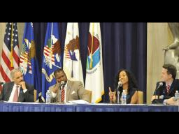 """Sonja Sohn (""""Kima"""") highlights the challenges faced by children and families affected by drug abuse."""