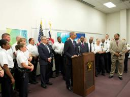On October 5, 2011 Attorney General Holder announced more than $15 million in grant awards to agencies in Ohio. This is part of the Department of Justice awarding more than $243 million to agencies nationwide to hire new officers and deputies.