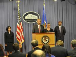 The Attorney General reaffirms the Department's pledge to the residents and businesses on the Gulf Coast.