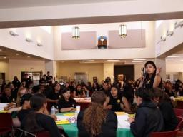 During the summit, tribal youth attendees were able to network with each other and share strategies for success.