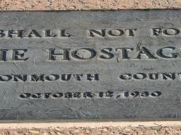 November 4, 1979. Tehran - Memorial for victims of a Hostage Crisis in Tehran, Iran.