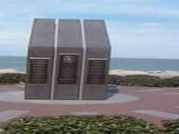October 12, 2000. USS Cole - Memorial for the victims of the USS Cole Bombing in Aden, Yemen.