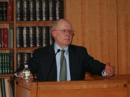 U.S. Attorney Bob Fiske addresses the Office