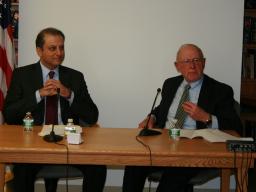 U.S. Attorneys Preet Bharara and Bob Fiske