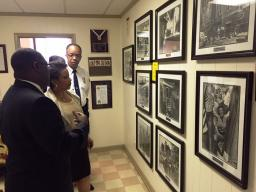 While in Birmingham, Attorney General Lynch visited the 16th Street Baptist Church