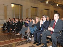 Antitrust Division staff members attend the 2012 Division awards ceremony.