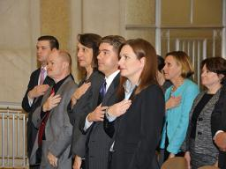 Antitrust Division staff members attend the 2011 Division awards ceremony.