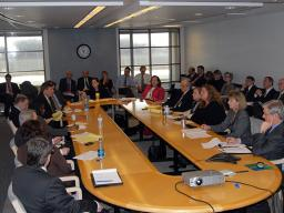 Antitrust Division section chiefs meet with Assistant Attorney General Christine Varney and Deputy Assistant Attorneys General.