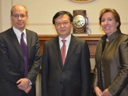 Jon Leibowitz; Gao Hucheng, Sharis Pozen meet in Washington, D.C.