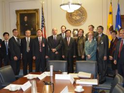Department of Justice, Federal Trade Commission, and Chinese government officials meet in Washington, D.C.