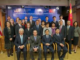 At the first U.S.-China joint dialogue, held in September 2012