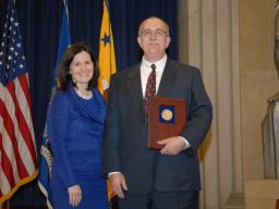 2010 Morrison Award recipient Claude Scott.