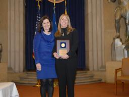 2009 AAG Individual Award recipient Elizabeth Armington.