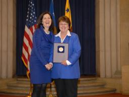 2010 Enforcement Support Award recipient Jane Ingalls.
