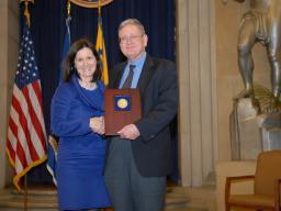 2010 Roberts Award recipient John Powers.