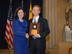 2009 AAG Individual Award recipient Kevin Quin.