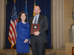 2010 AAG Individual Award recipient Mark Gavin.