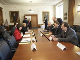 Department of Justice officials meet with the Head and Deputy Head of the Russian Federal Antimonopoly Service