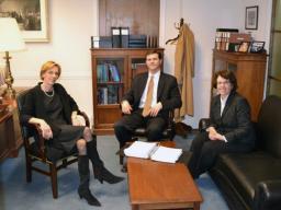 Deputy AAG Katherine Forrest, Director of Criminal Enforcement John Terzaken & Director of Civil Enforcement Patricia Brink