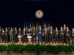 The Attorney General's Award for Excellence in Law Enforcement is presented to a team for its exceptional work on Operation
