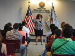 Assistant U.S. Attorney Shauna Hale discusses her path to becoming an attorney in the Vicolent Crime and Gang Section.