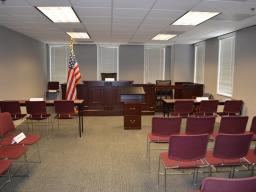 The Mock Trial Courtroom