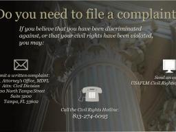 Fair Housing Complaint Information