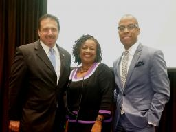 TB Fair Housing, Dir Paul Valenti, City of Tampa's Patricia Newton and AUSA Yohance Pettis