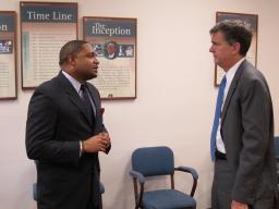USA Bentley visits Abe Brown Ministries