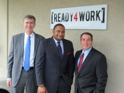 USA, Robert Blount and US Magistrate Porcelli at Ready 4 Work
