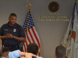 TPD Officer Washington discusses accountablity.