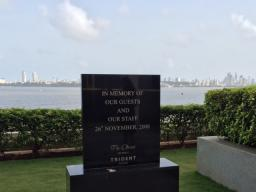 Mumbai – Memorial for the victims of the terrorist attacks carried out in Mumbai, India.