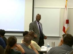 Outreach Specialist Joe Smith discusses SMART on Crime.