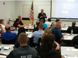 Det. Deasaro discusses community policing.