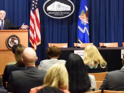 Principal Deputy Associate Attorney General Bill Baer participated in a roundtable discussion on efforts to assist the nation's