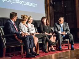 """A panel discussion prior to a screening of the """"Chasing the Dragon"""" documentary"""