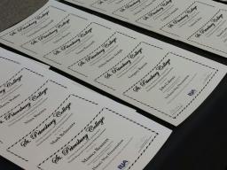 Course Certificates