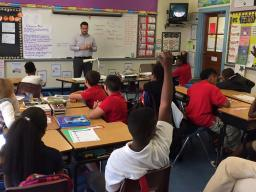 IT Specialist James Hacman At Cleveland Elementary