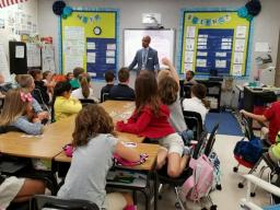 AUSA Pettis at Mary Bryant Elementary School