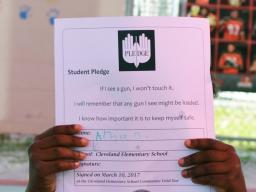 Pledge Against Gun Violence