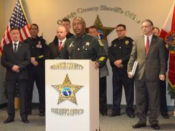 Sheriff Demings discusses mutli-prong approach to heroin in Orange County.