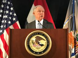 Attorney General Sessions delivers remarks on efforts to combat violent crime in St. Louis