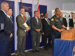 Chief Holloway talks about partnership