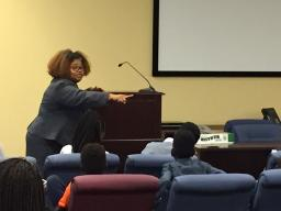 AUSA Hale discusses her path to becoming a federal prosecutor.