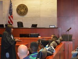 Judge Honeywell talks about choices