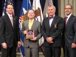Award Recipient Senior Civil Investigator Charles Burnette