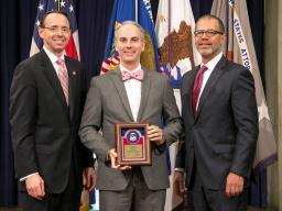 Award Recipient AUSA Charles Harden